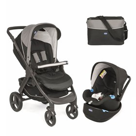 Chicco Duo Style Go Up Travel Sistem Bebek Arabası Black